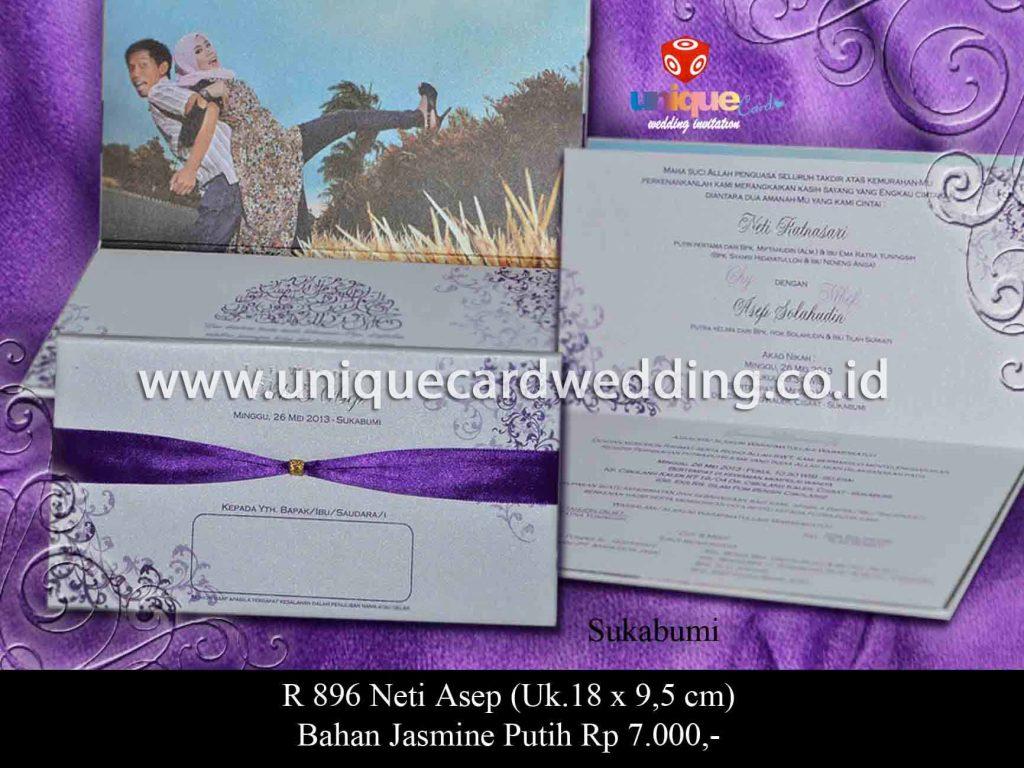 undangan pernikahan-Neti Asep