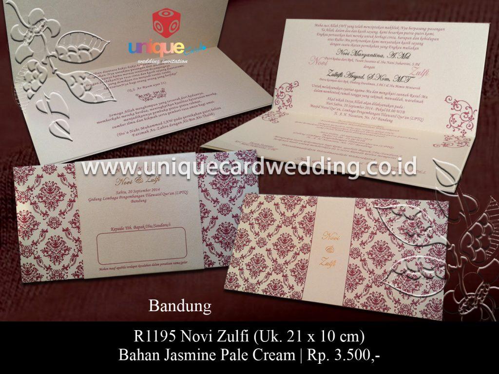 undangan pernikahan-Novi Zulfi