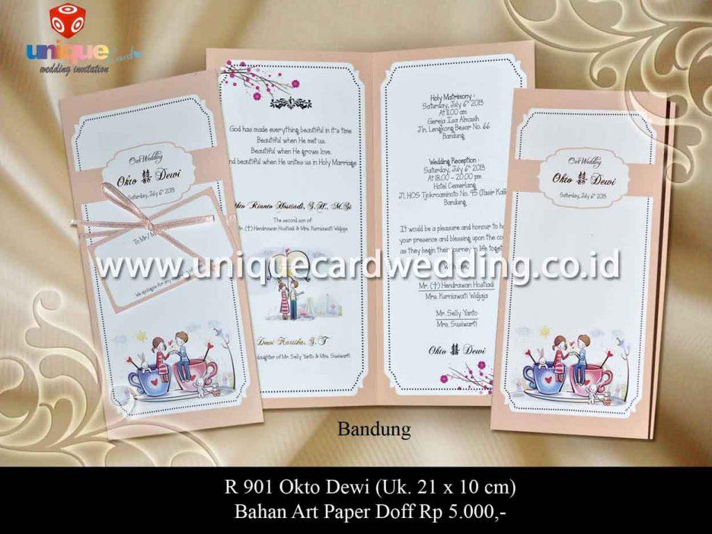 undangan pernikahan-Okto Dewi