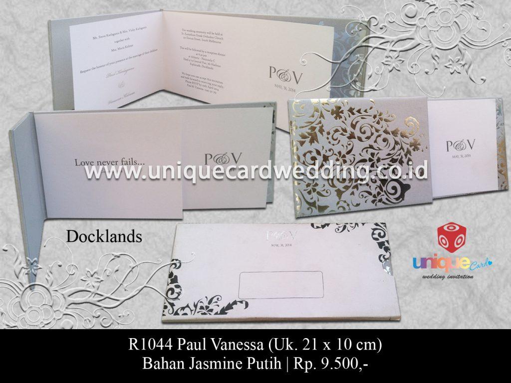 undangan pernikahan-Paul Vanessa