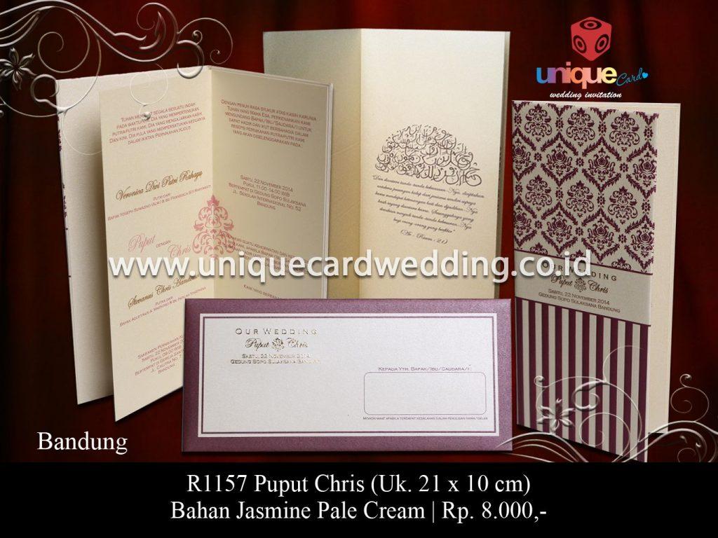 undangan pernikahan-Puput Cris