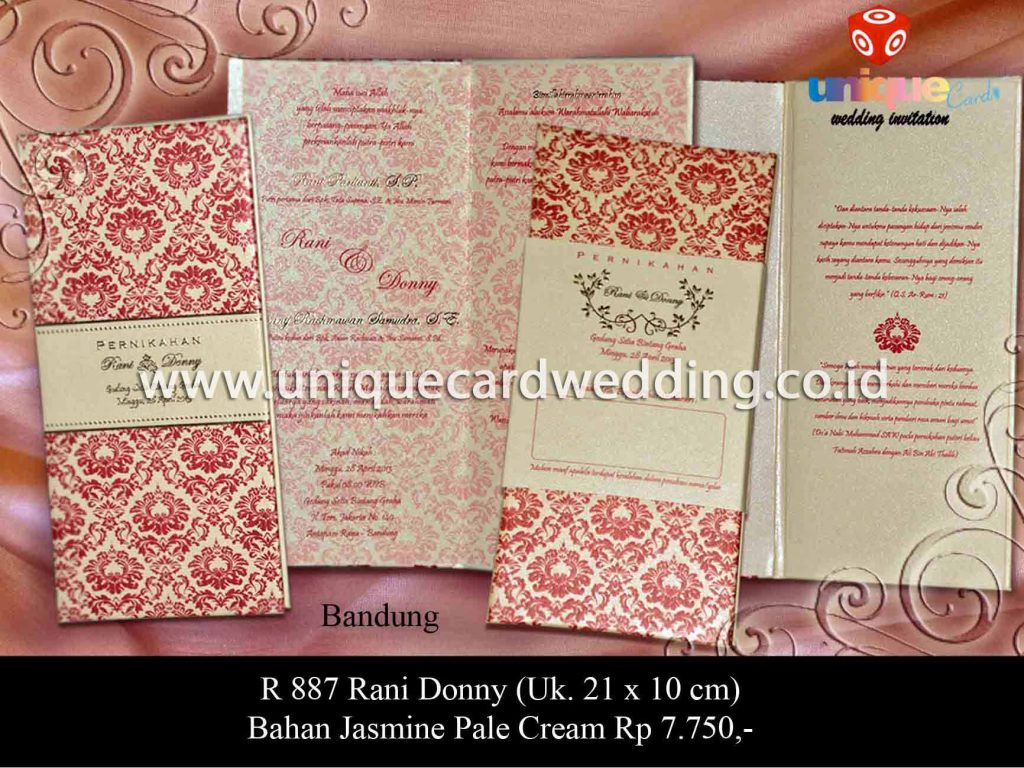 undangan pernikahan-Rani Donny