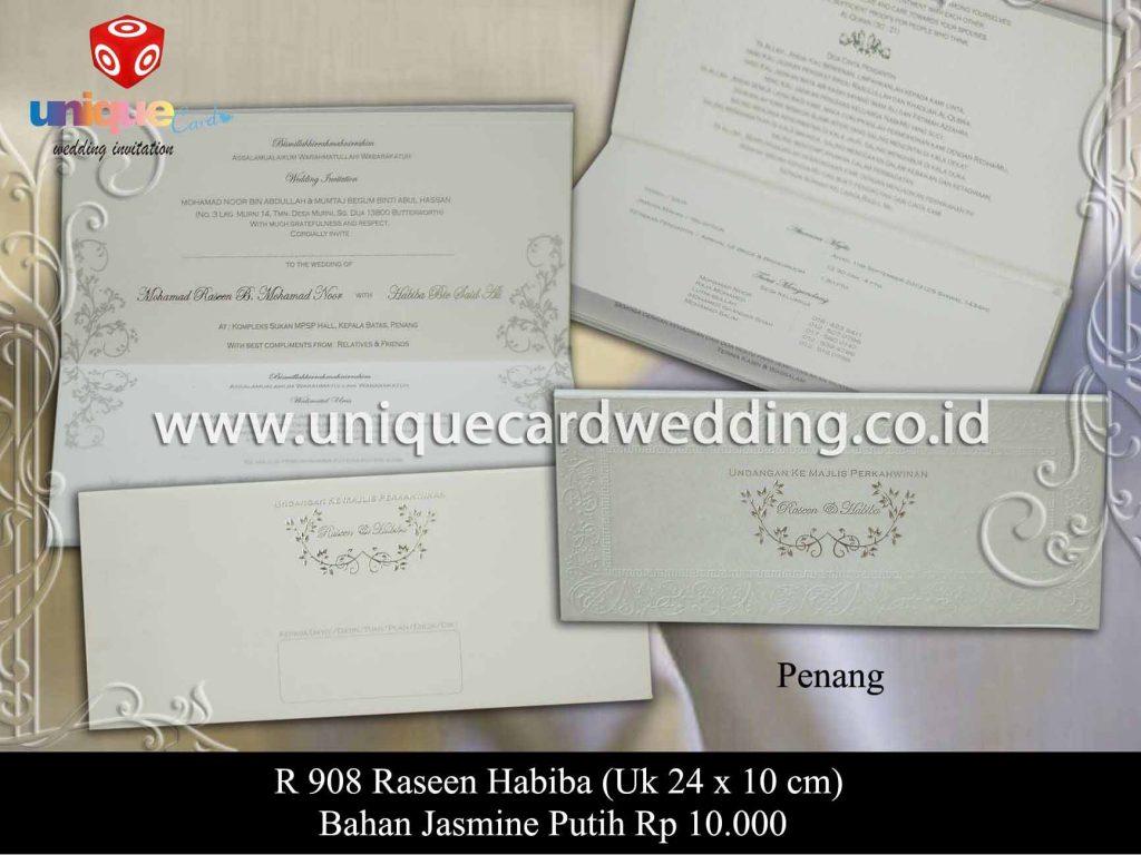 undangan pernikahan-Raseen Habiba