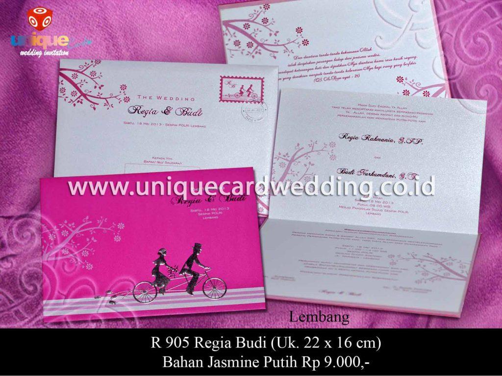 undangan pernikahan-Regia Budi