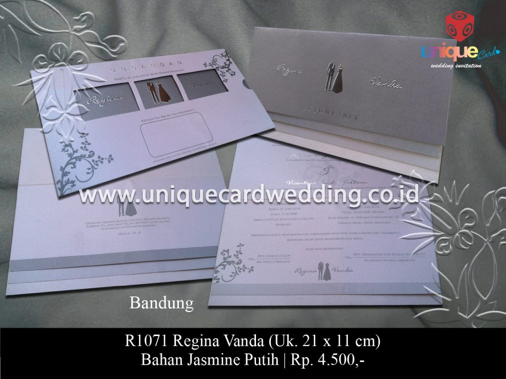 undangan pernikahan-Regina Vanda
