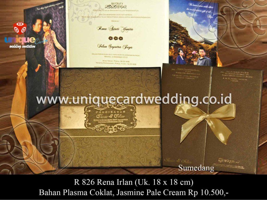 undangan pernikahan-Rena Irlan 18 x 18