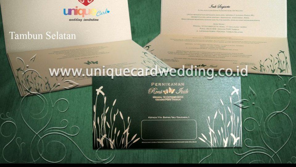 undangan pernikahan-Reni Icuk