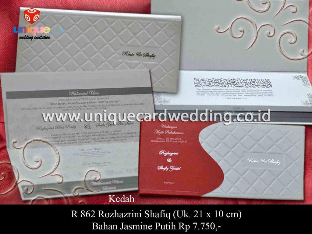 undangan pernikahan-Rozhazrini Shafiq
