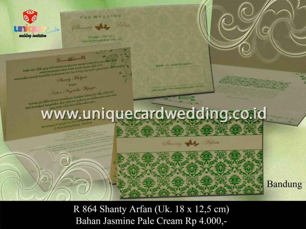 undangan pernikahan-Shanty Arfan