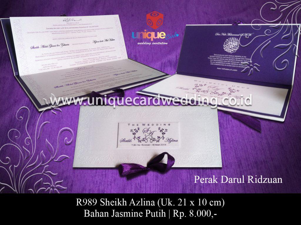 undangan pernikahan-Sheikh Ajlina