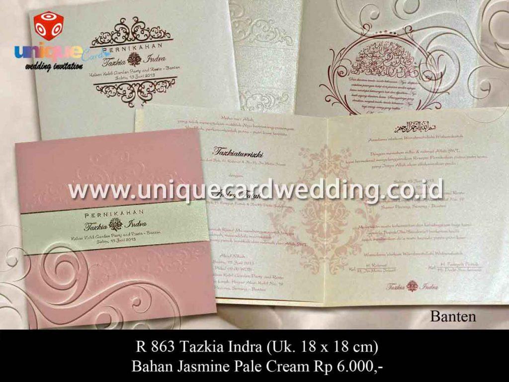undangan pernikahan-Tazkia Indra