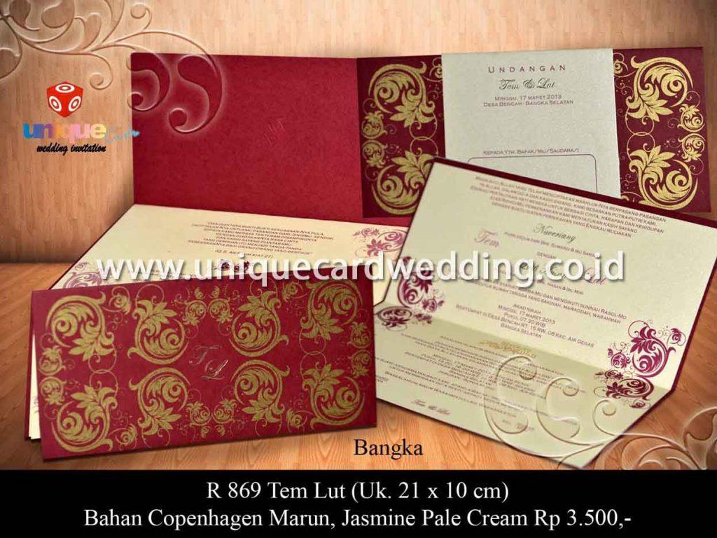 undangan pernikahan-Tem Lut