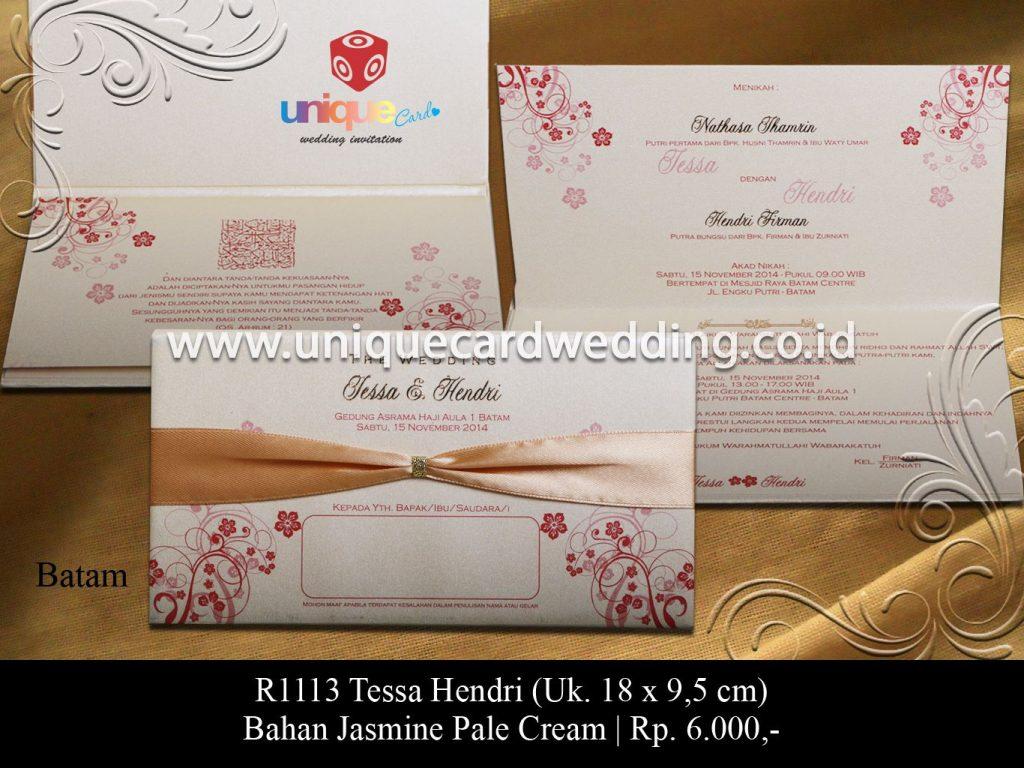undangan pernikahan-Tessa Hendri