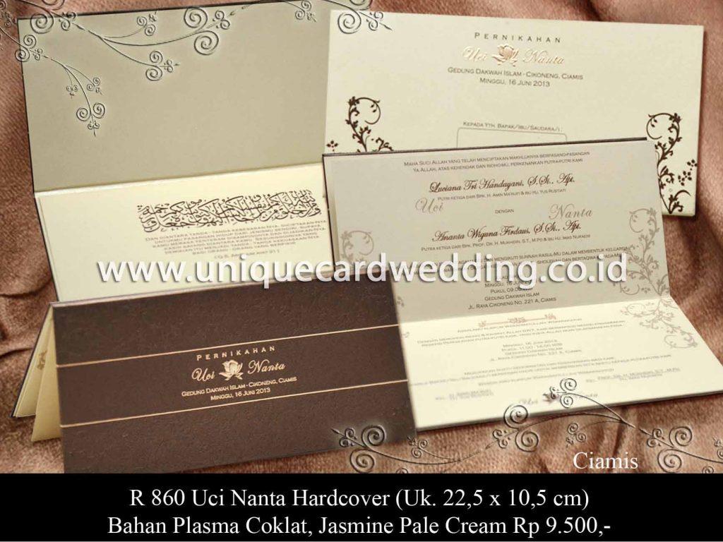undangan pernikahan-Uchi Nanta HC