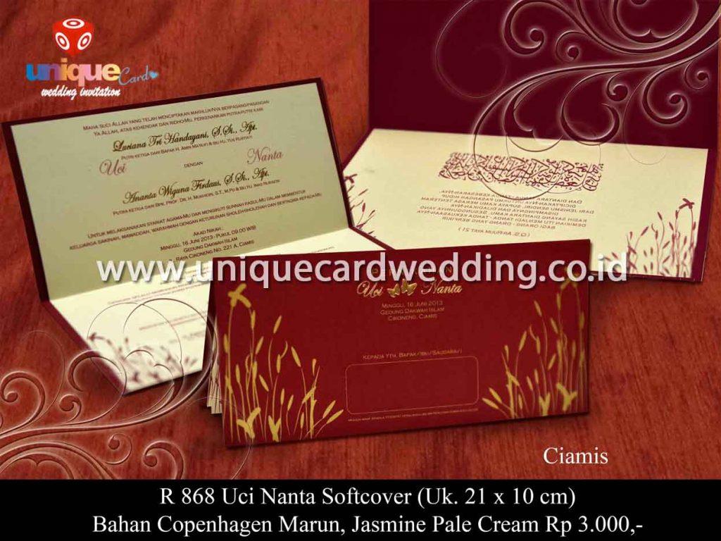 undangan pernikahan-Uci Nanta SC