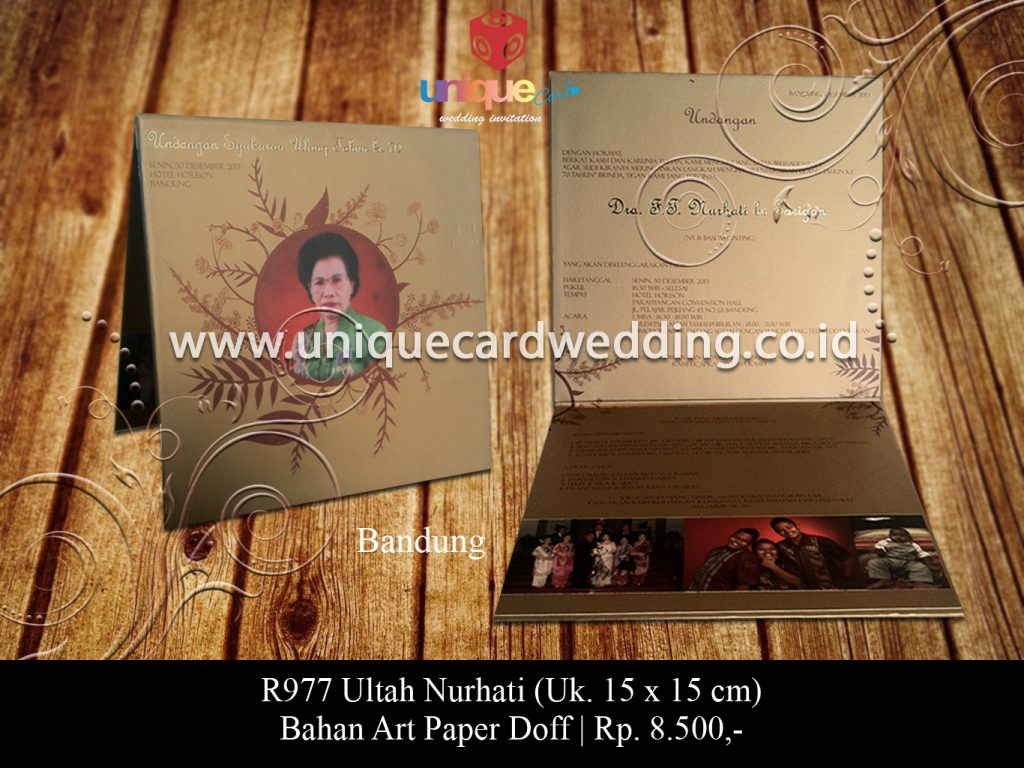 undangan pernikahan-Ultah Nurhati
