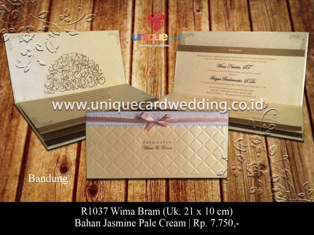 undangan pernikahan-Wina Bram