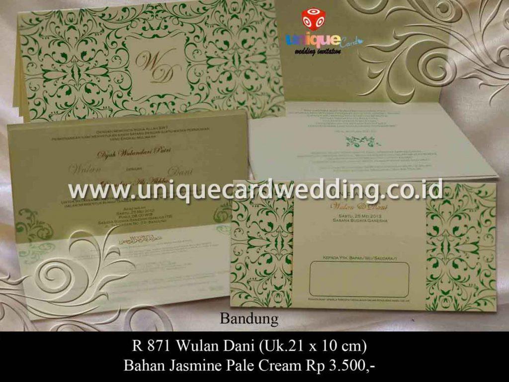 undangan pernikahan-Wulan Dani