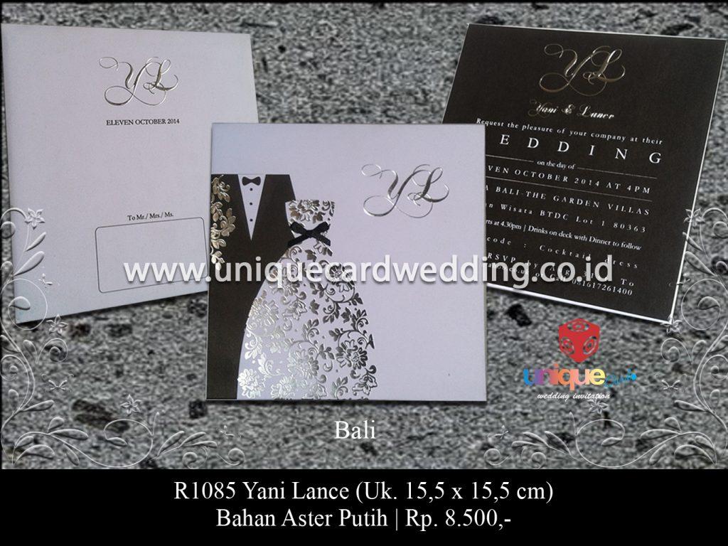 undangan pernikahan-Yani Lance