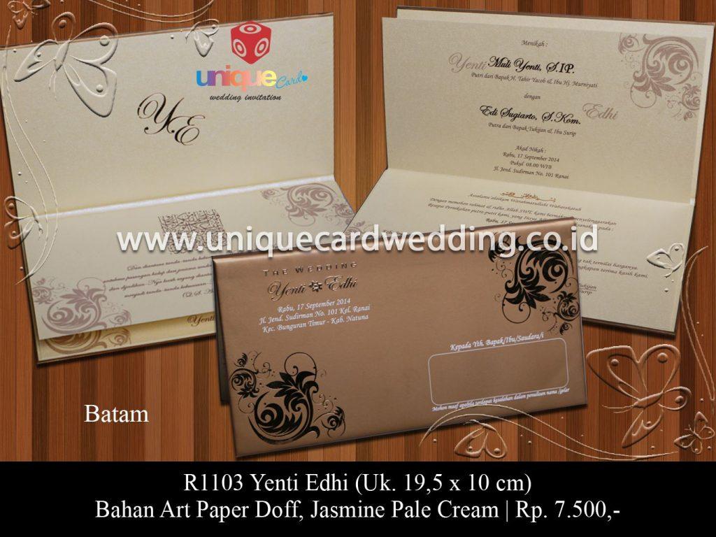 undangan pernikahan-Yenti Edhi