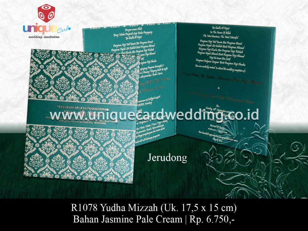 undangan pernikahan-Yudha Mizzah