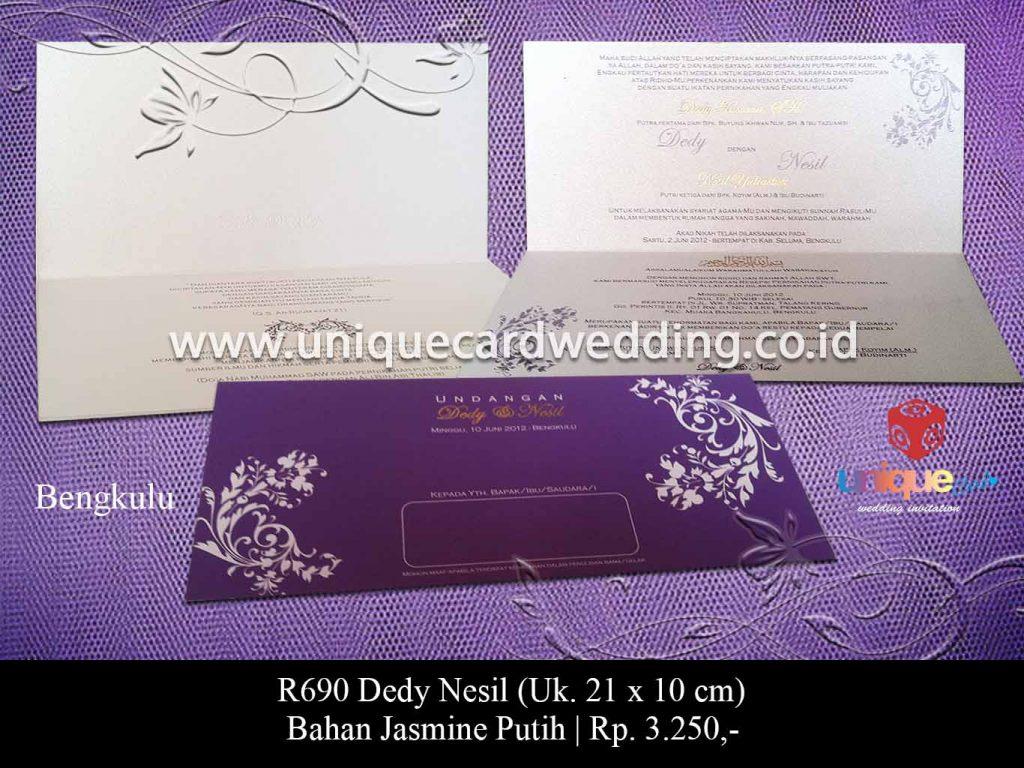 undangan pernikahan-Dedy Nesil