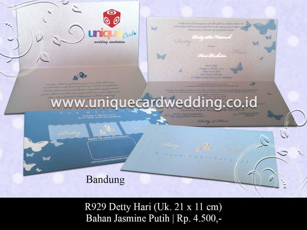 undangan pernikahan-Detty Hari