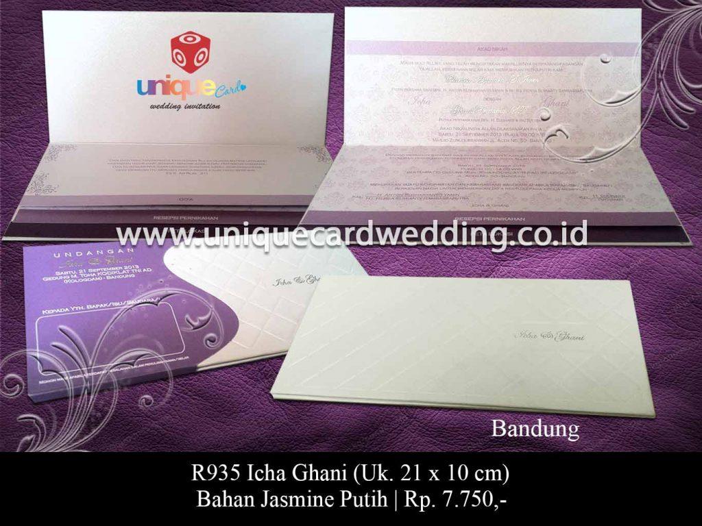 undangan pernikahan-Icha Ghani