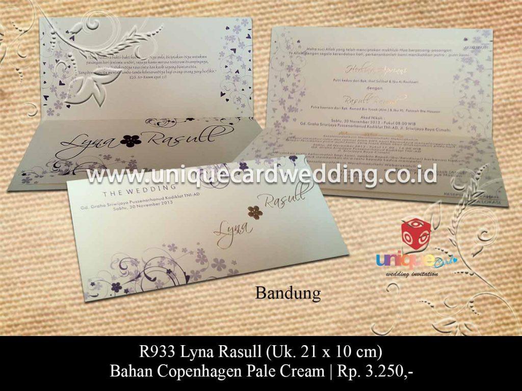undangan pernikahan-Lyna Rasull
