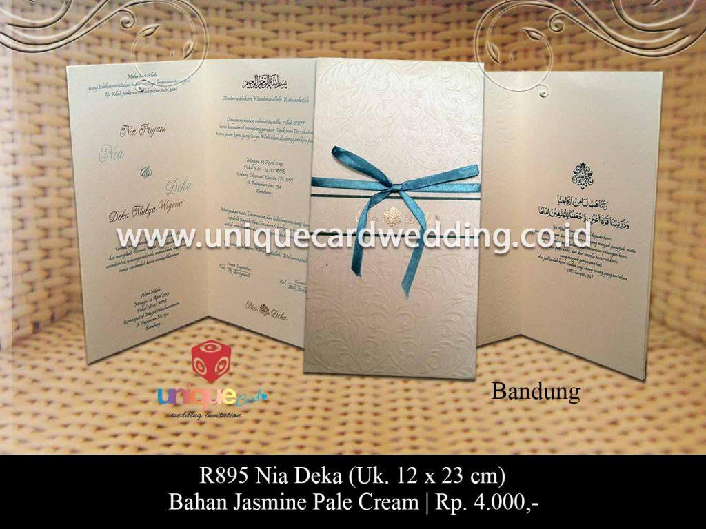 undangan pernikahan-Nia Deka