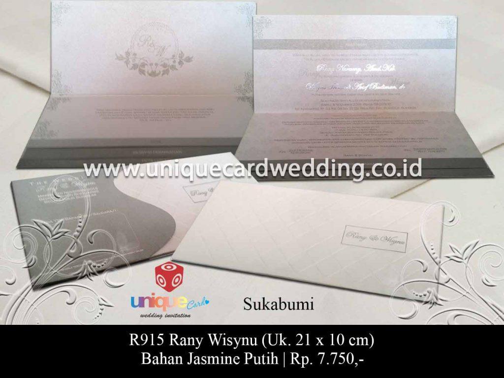 undangan pernikahan-Rany Wisynu