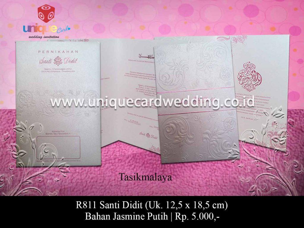 undangan pernikahan-Santi Didit