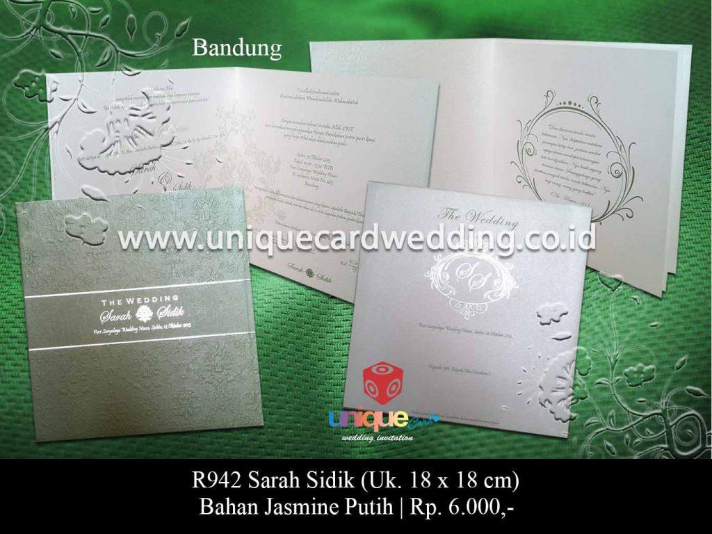 undangan pernikahan-Sarah Sidik
