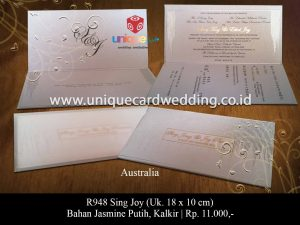 Unique wedding invitation Hard Cover
