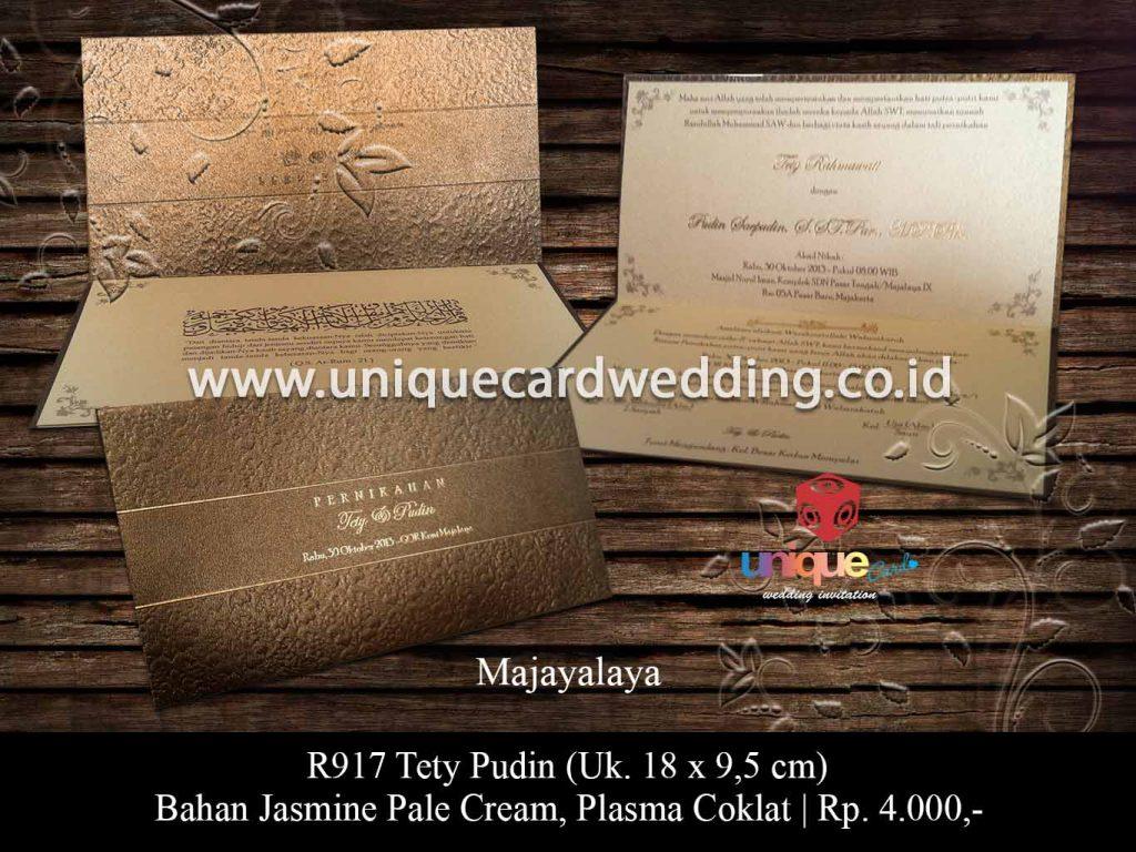 undangan pernikahan-Tety Pudin