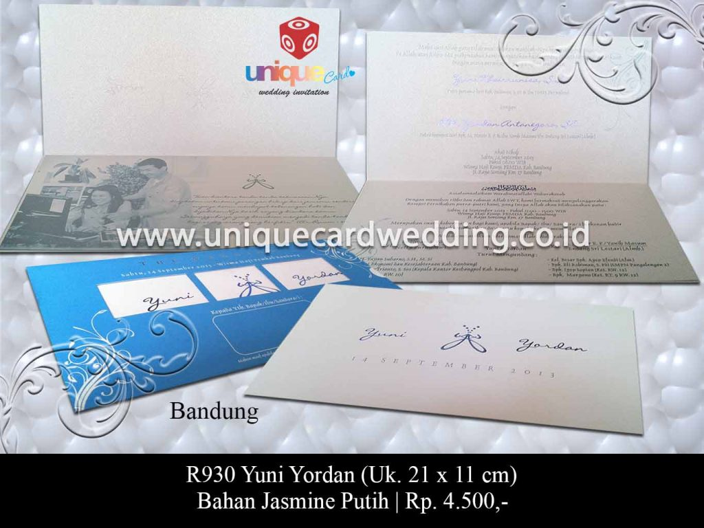 undangan pernikahan-Yuni Yordan