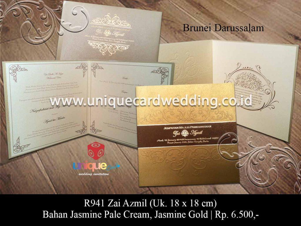 undangan pernikahan-Zai Azmil