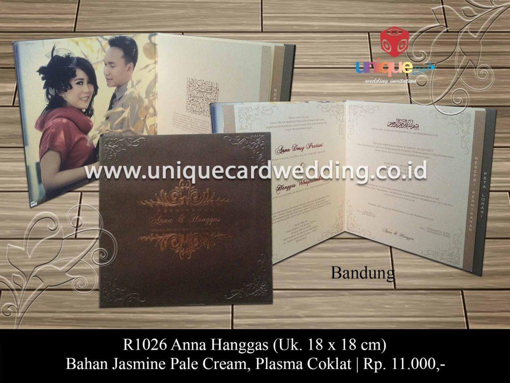 undangan pernikahan-Anna Hanggas