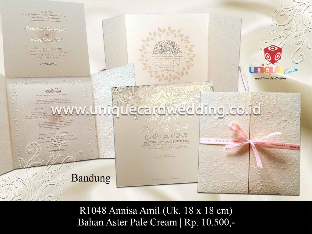 undangan pernikahan-Annisa Amil