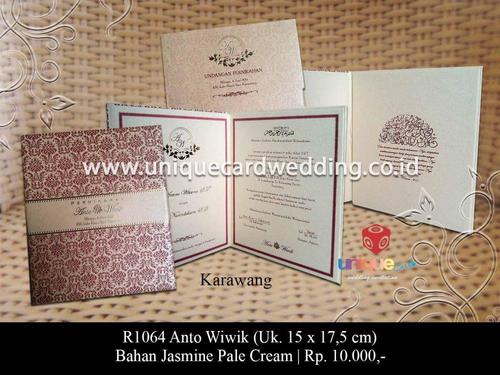 undangan pernikahan-Anto wiwik 15 x 17,5