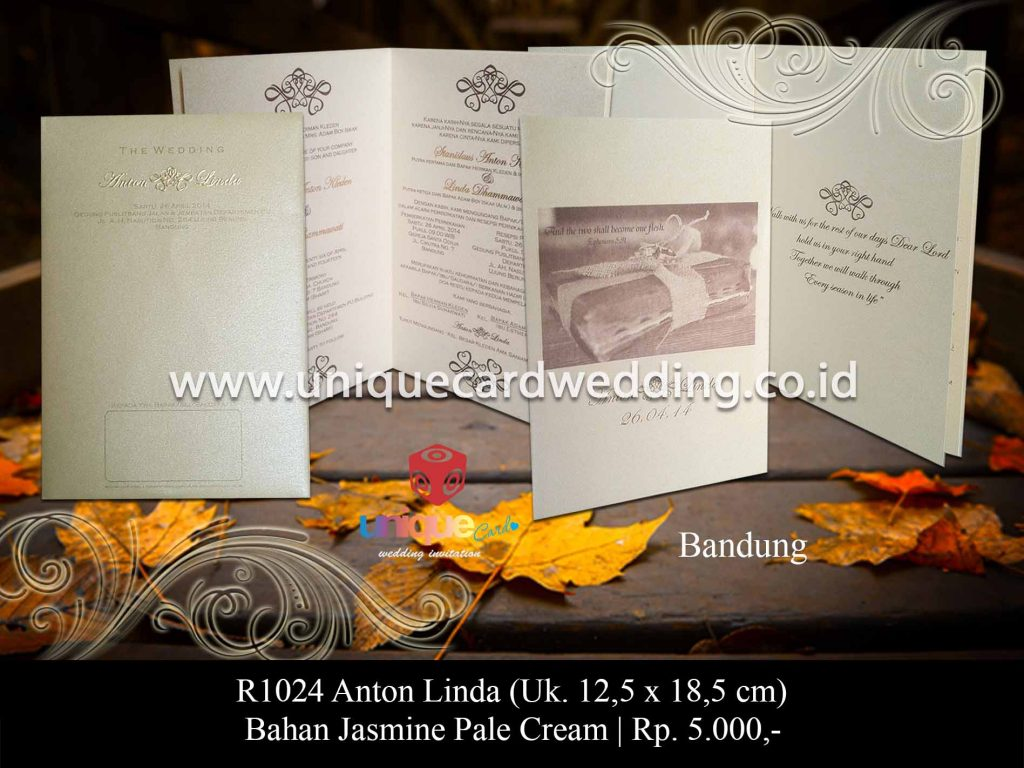 undangan pernikahan-Anton Linda