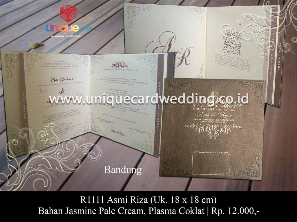 undangan pernikahan-Asmi Riza