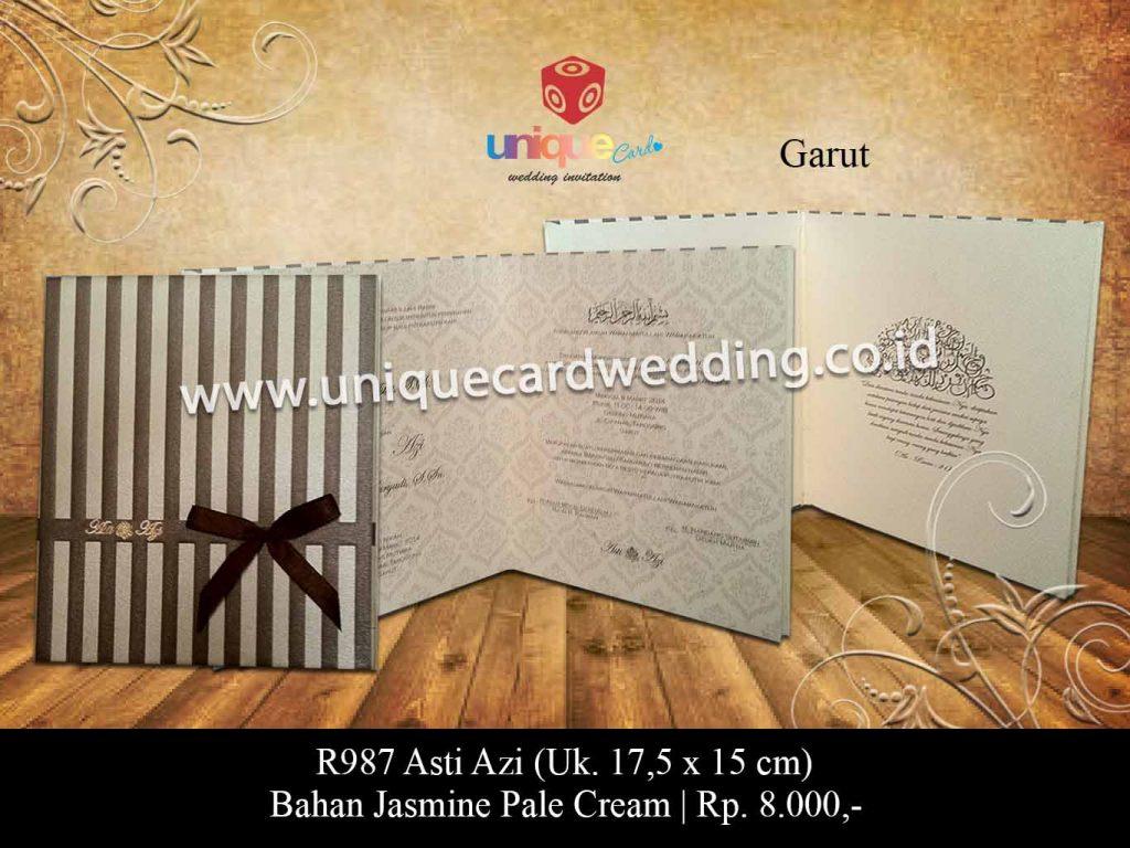 undangan pernikahan-Asti Azi