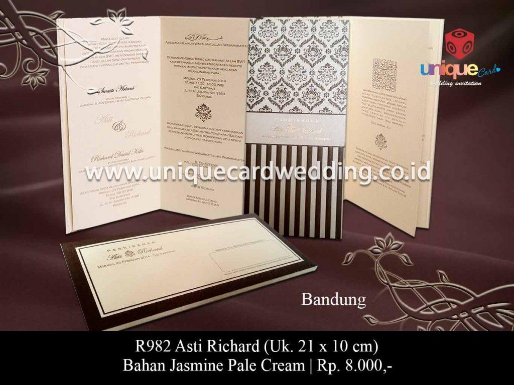 undangan pernikahan-Asti Richard