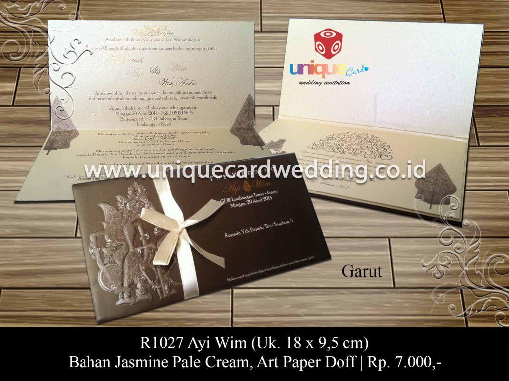 undangan pernikahan-Ayi Wim