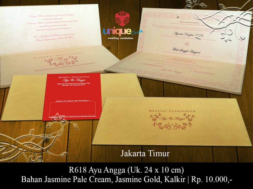 undangan pernikahan-Ayu Angga