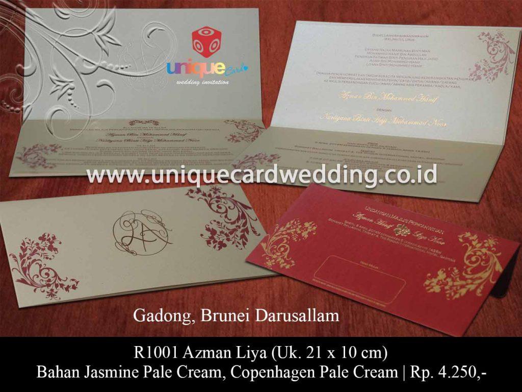 undangan pernikahan-Azman Liya