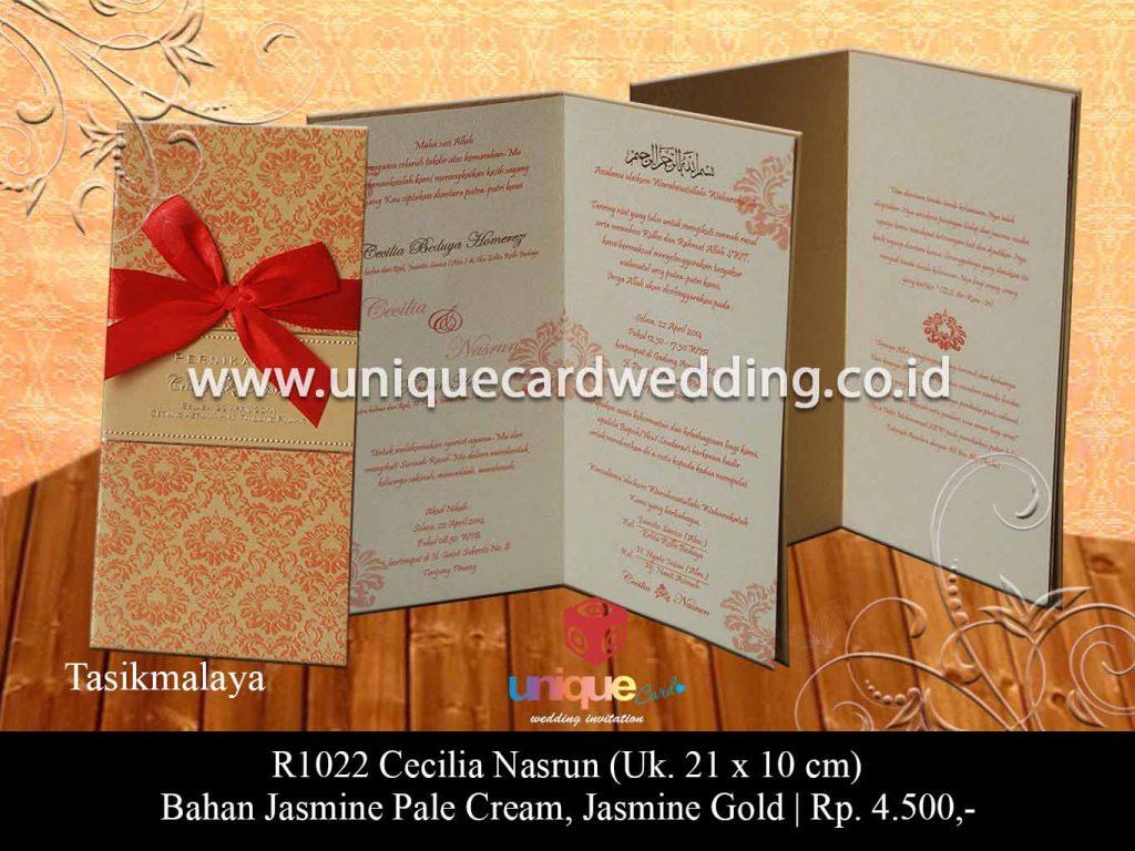 undangan pernikahan-Cecilia Nasrun
