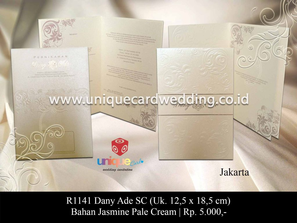 undangan pernikahan-Dany Ade SC