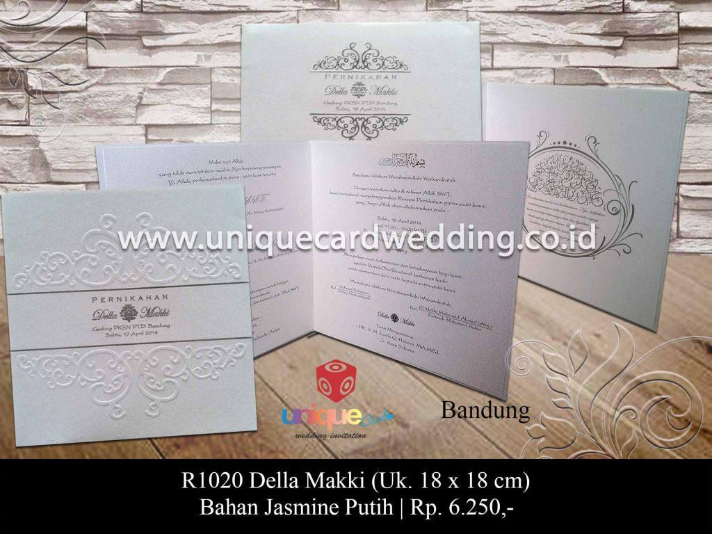 undangan pernikahan-Della Makki
